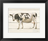 Framed Country Cow VI
