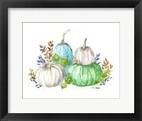 Framed Farmhouse Pumpkins