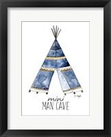 Framed Blue Teepee