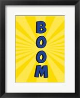 Framed Boom