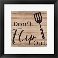 Framed Don't Flip Out