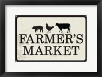 Framed Farmer's Market