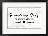 Framed Grandkids Only