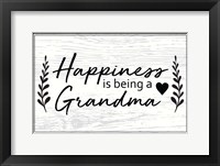 Framed Happiness is Being a Grandma