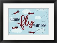 Framed Come Fly With Me