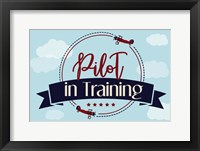 Framed Pilot in Training