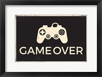 Framed Game Over