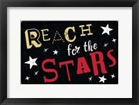 Framed Reach for the Stars