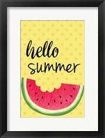 Framed Watermelon II