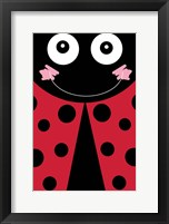 Framed Lady Bug