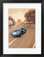 Framed Vintage Race