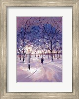 Framed Winter Stroll
