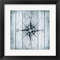 Framed Nautical Compass
