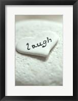 Framed Laugh Pebble - Still Life