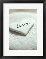 Framed Love Pebble