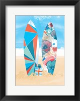 Framed Surf Time