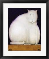 Framed Fat Cat