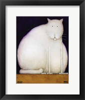 Framed Fat Cat