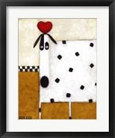 Framed Love Dog