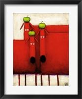 Framed Tres Amigos Art