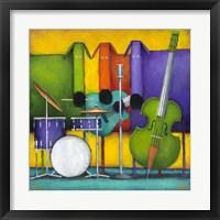 Framed Jam Dogs II