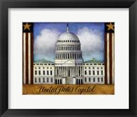 Framed Capitol