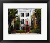 Framed Sousa House, Capitol Hill