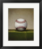 Framed Baseball