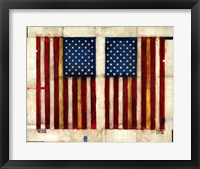 Framed Flag Day