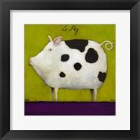 Framed Le Pig II