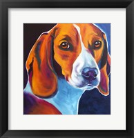 Framed Beagle - Lucy May