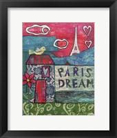 Framed Paris Dream