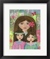 Framed Madre Y 2 Hijas