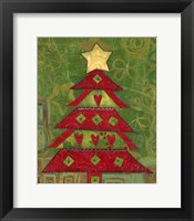Framed Love Christmas Tree