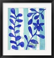 Framed Talavera Blu
