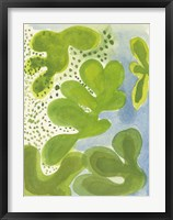 Framed Green Lagoon