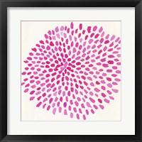 Framed Pink Burst