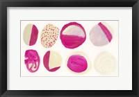 Framed Pink Piedras