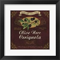Framed Olives
