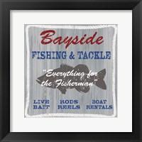 Framed Bayside