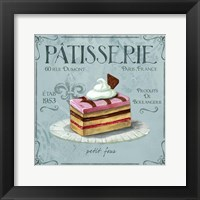 Framed Patisserie 2