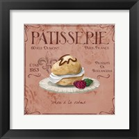 Framed Patisserie 11