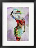 Framed Woman