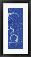 Framed Blue Marble Panel Trio III
