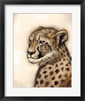 Framed Cheetah Portrait