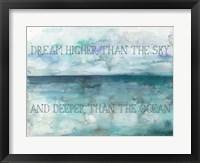 Framed Dream Higher Landscape