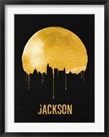 Framed Jackson Skyline Yellow