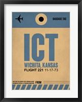 Framed ICT Wichita Luggage Tag I