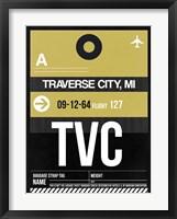 Framed TVC Traverse City Luggage Tag II