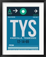 Framed TYS Knoxville Luggage Tag II